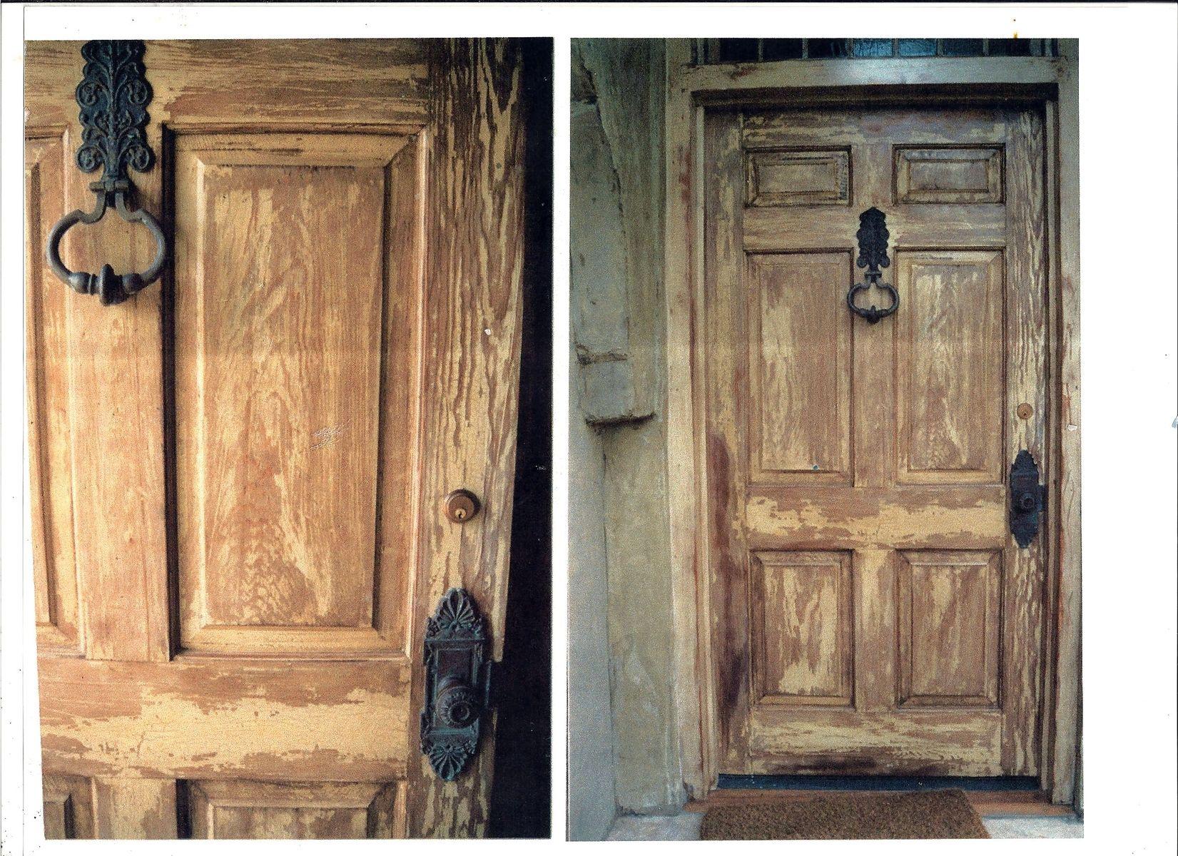Hand Made New Door Made Old By Schmidt Mandell Studio