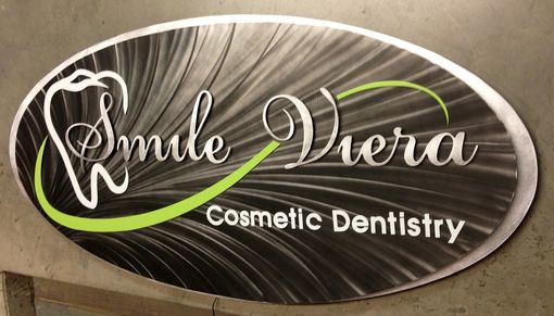 Custom Made Dentistry Custom Made Metal Sign