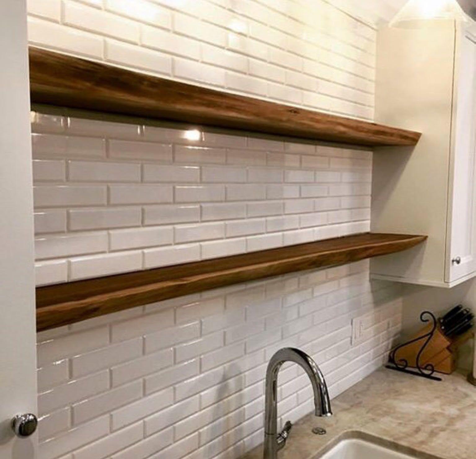 Kitchen Shelves Fireplace Mantel Floating Nightstand Floating Shelves Shelf
