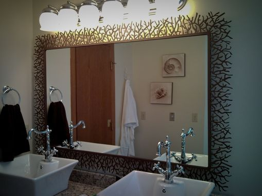 Custom Made Bathroom Mirrors