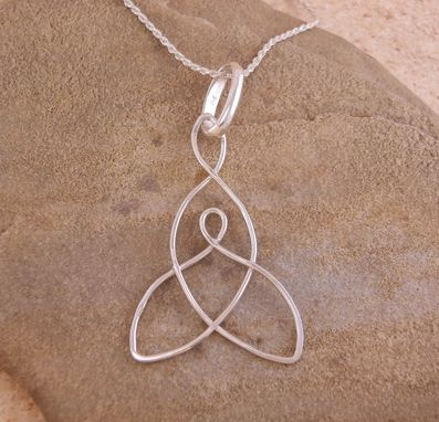 Custom Made Celtic Mother Child Pendant