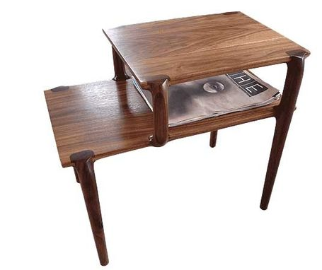Custom Made Mid-Century Modish Side Table