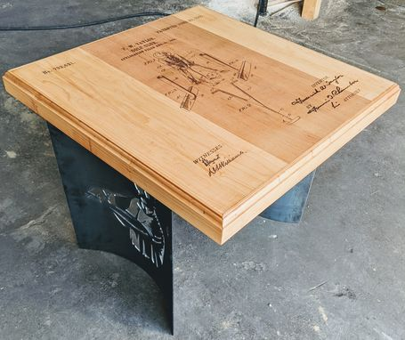 Custom Made Custom Hardwood Table