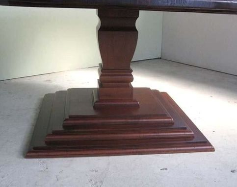 Custom Made Pedestal Bases Available From Ecustomfinishes