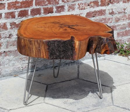 Custom Made Cherry End Table - Sold