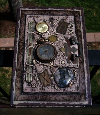 Custom Made 'Timeless' Found Object Book Box