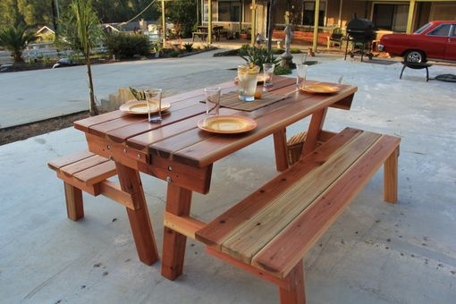 Custom Made Picnic Table/Garden Bench