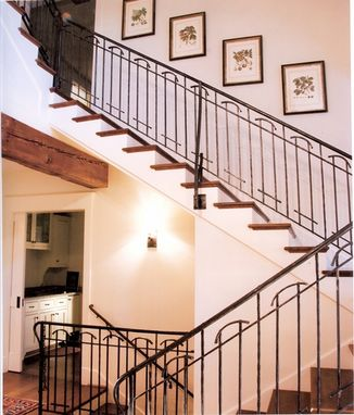 Custom Made Interior Railing Arts And Crafts Design