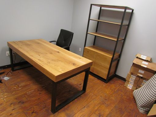 Custom Made Desk And Book Case
