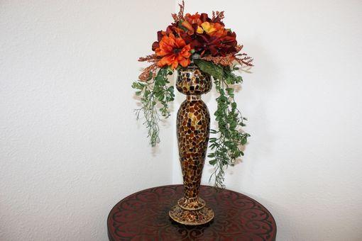 Custom Made Wedding Table Centerpiece Silk Flower
