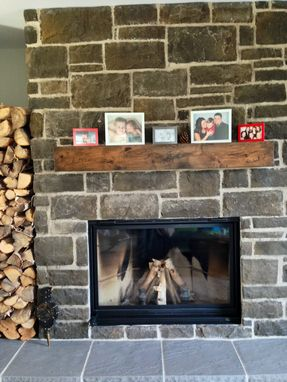 Custom Made Rustic Fireplace Mantels