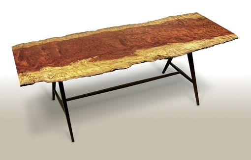 Custom Made Bubinga Writing Table/Desk