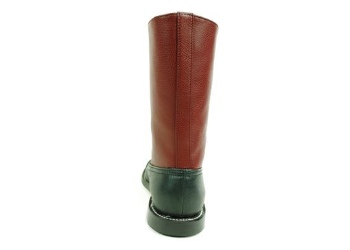 Custom Made Hesse Balmoral Boots, Classy Two Tone Goodyear Welted. (All Sizes)