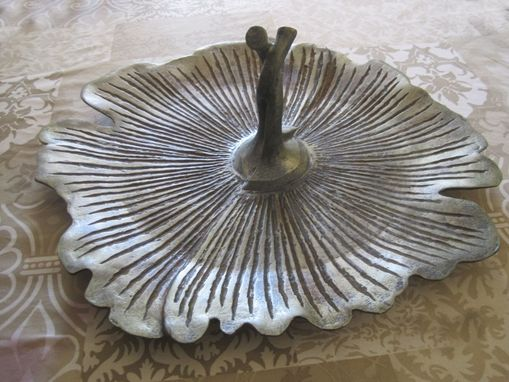 Custom Made Gingko Leaf Platter