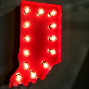 Custom Made Marquee Letter Light