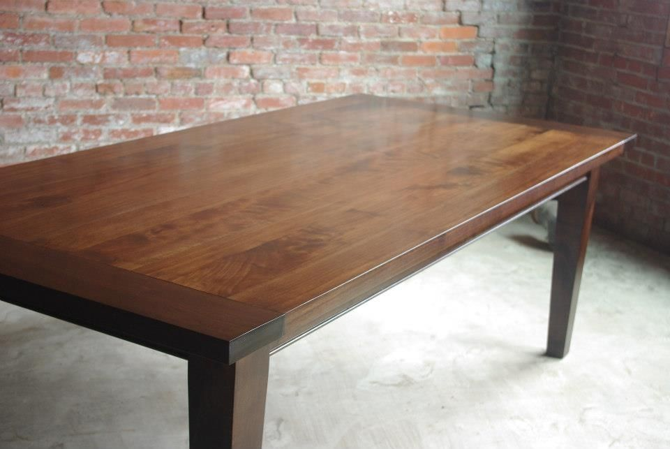 Custom Shaker Style Farmhouse Table By M SAW Shober Construction LLC