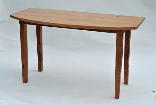 Custom Made Alder Dining Table And Occasional Table