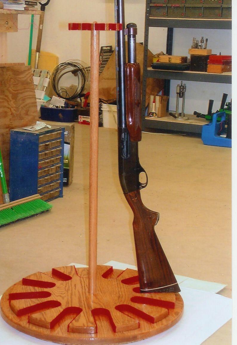 Handmade Gun Rack Lazy Susan By Ziegler Woodwork And