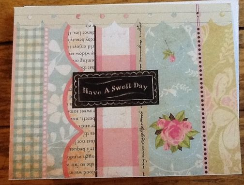 Custom Made Have A Swell Day Notecard Set