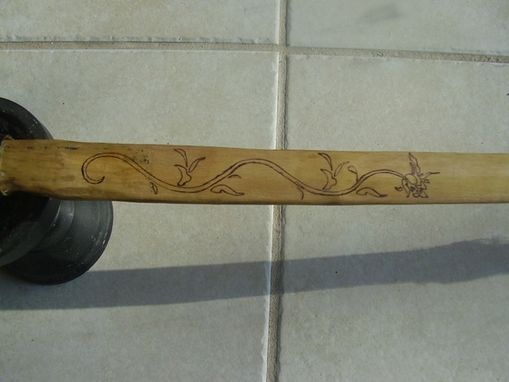Custom Made Wild Cherry Longbow