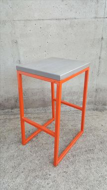 Custom Made Contemporary Bar Stool