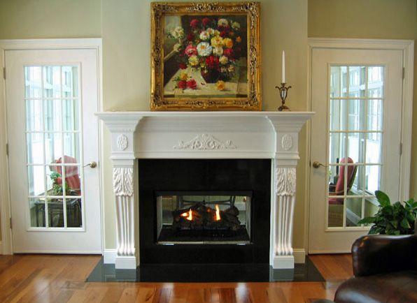 Custom Elegant San Diego Mantel By Accolade Fireplace Mantels