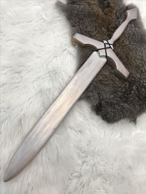 Custom Made Oak Play Sword - Medium