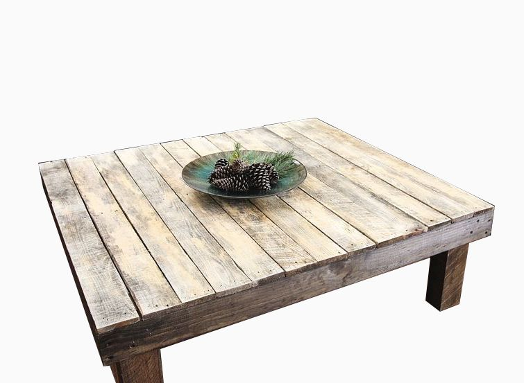 Buy a custom made the original farmhouse reclaimed wood coffee table made to order from yonder Recycled wood coffee table