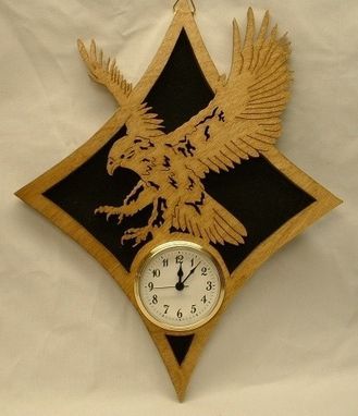 Custom Made Eagle Wall Clock