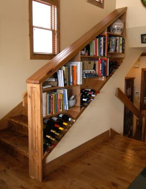 Custom Made Wine Shelf