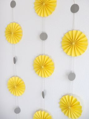 Custom Made 10ft Garlands - Paper Rosette Wheels