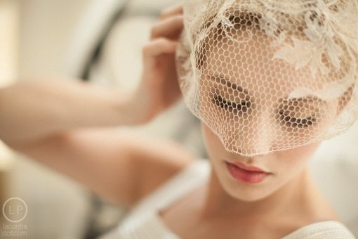 Custom Made Birdcage Veils