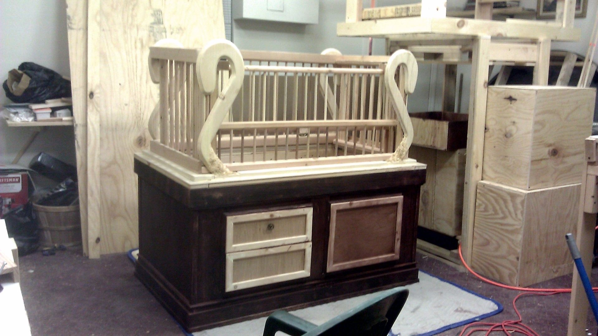 Custom Angels Baby Crib By Decoretz Inc Custommade Com