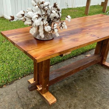 Custom Made The Loom Farmhouse Table