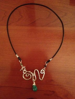 Custom Made Wire Wrapped Necklace