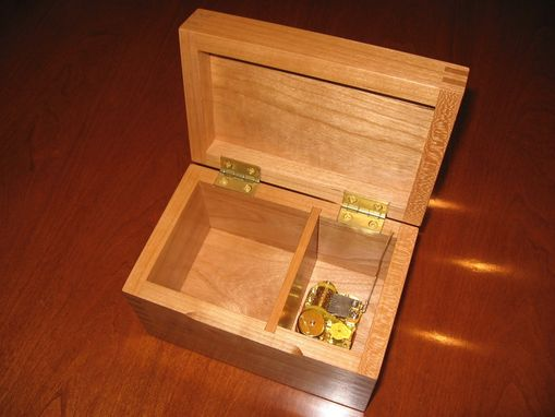 Custom Made Wooden Music Box