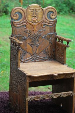 Custom Made Celtonorasian Chair
