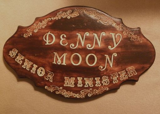 Custom Made Door Sign,Handmade,Hand Carve On Ceramic ,Handpainted