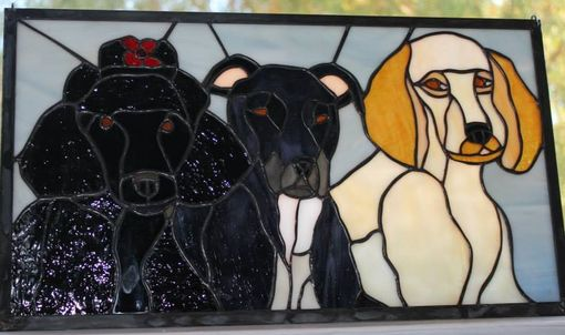 Custom Made Stained Glass Artwork