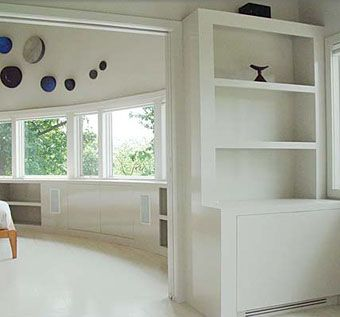 Custom Made Lacquered Built-Ins