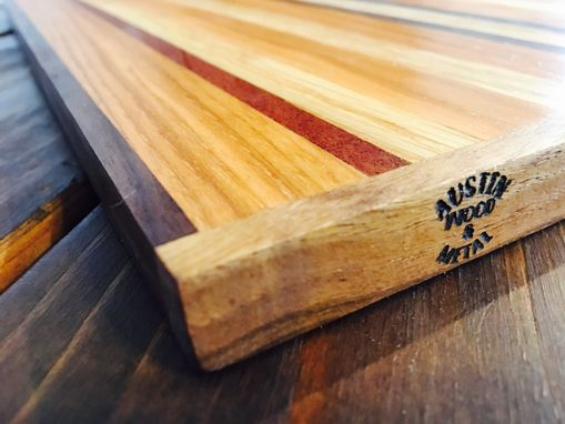 Custom Made White Oak Cutting Board By Austin Wood And Metal