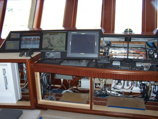 Custom Made Mega Yacht Pilot House