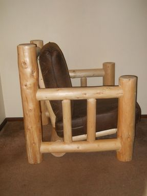 Custom Made Log Sofa Chair Set
