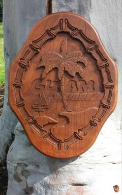 Custom Made Guam Seal Plaque