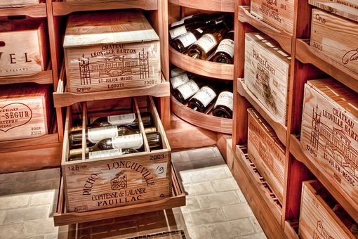 Custom Made Kedzie Wine Cellar
