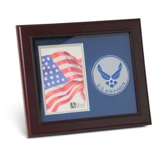 Custom Made Us Air Force Medallion Portrait Picture 4 Inch X 6 Inch