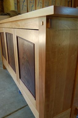 Custom Made Hall Cabinet