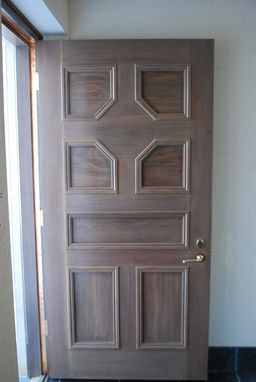 Custom Made Custom Walnut Door