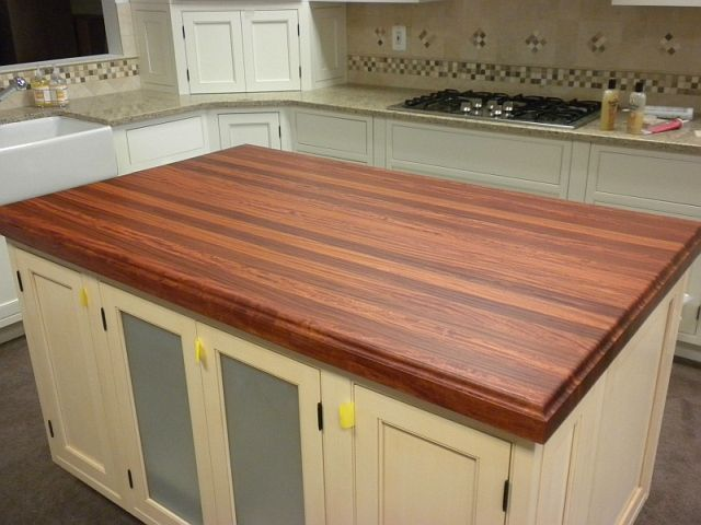 Hand Made Santos Mahogany Counter Top By Chesapeake