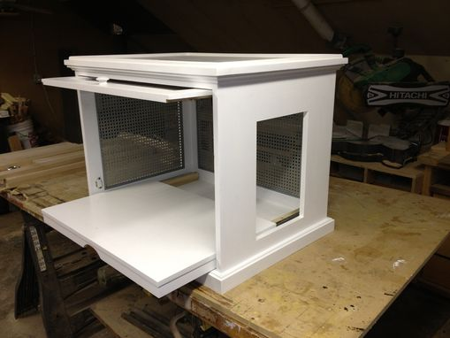 Custom Made Concealed Litter Box